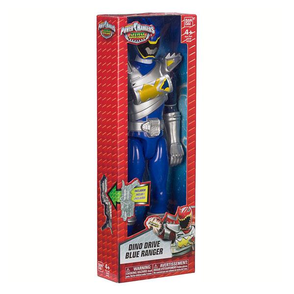 Figurine Géante 30cm Power Rangers bleu
