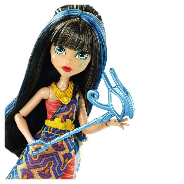 Monster high poupée la danse des masques Cléo de Nile