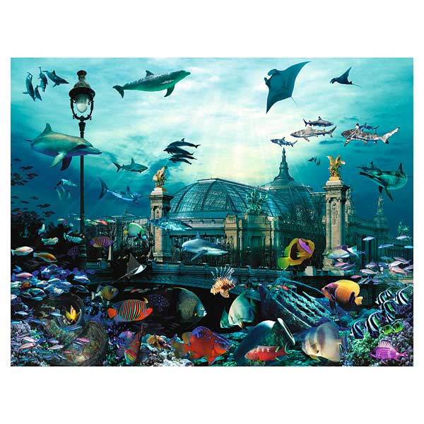 Puzzle 2000P Nathan Grand Palais Aquarium