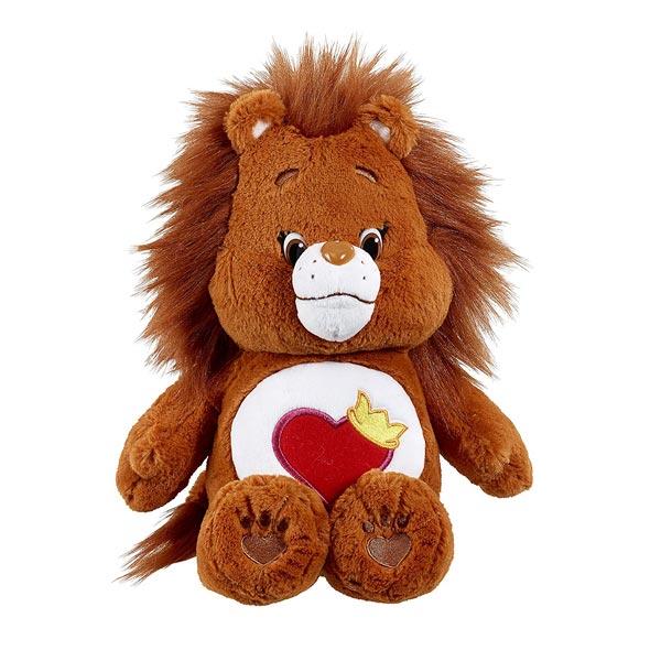 bisounours 35cm lion toubrave vivid king jouet peluches vivid poup es peluches. Black Bedroom Furniture Sets. Home Design Ideas