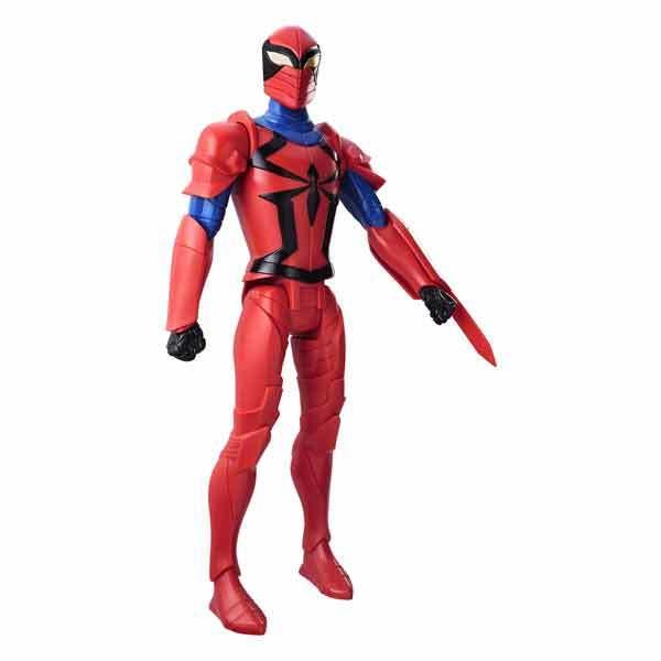 figurine spiderman titan 30cm spyder knight hasbro king jouet figurines et cartes. Black Bedroom Furniture Sets. Home Design Ideas