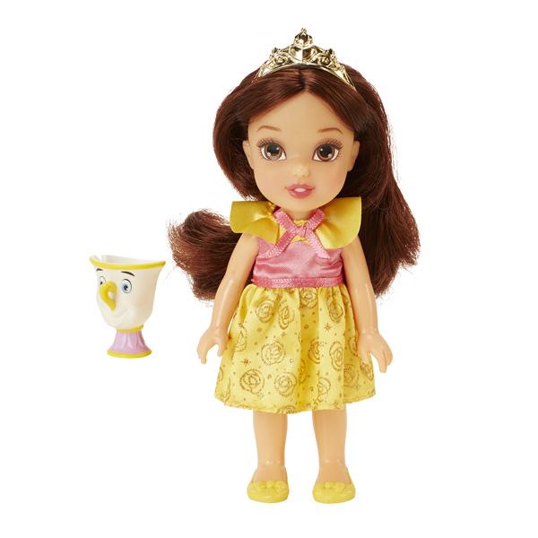 poup e princesse disney 15 cm petite belle et chip taldec king jouet poup es taldec poup es. Black Bedroom Furniture Sets. Home Design Ideas