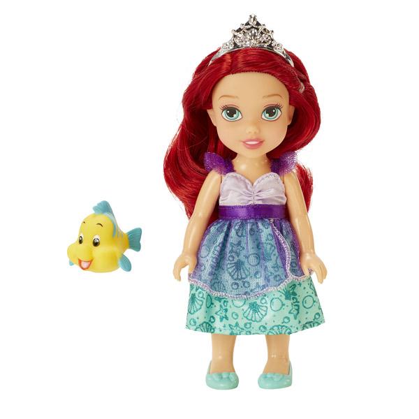 Poup e princesse disney 15 cm petite ariel et polochon taldec king jouet poup es taldec - Petite princesse disney ...