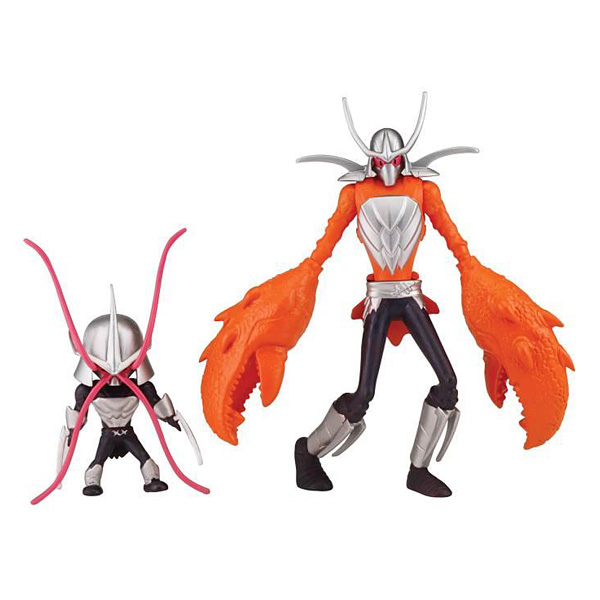 Tortues Ninja Figurine 12 cm Mutant Shrimp & Crab