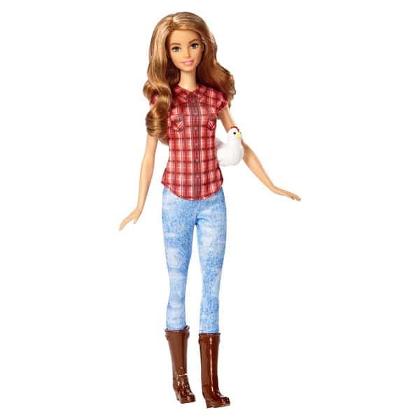 Barbie métiers de rêve Fermière