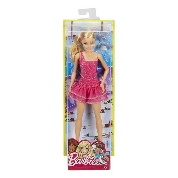Barbie métiers de rêve patineuse europeenne