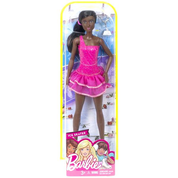 Barbie métiers de rêve patineuse africaine
