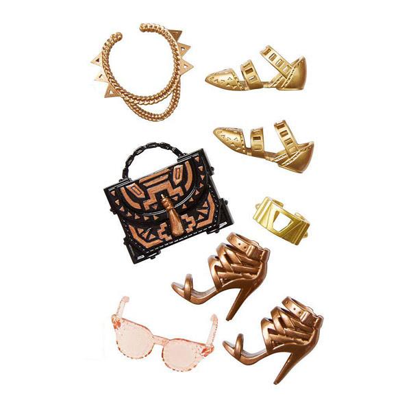 barbie chaussures et accessoires dhc56 mattel king jouet accessoires de poup es mattel. Black Bedroom Furniture Sets. Home Design Ideas