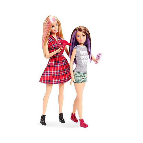 Barbie et sa soeur Skipper