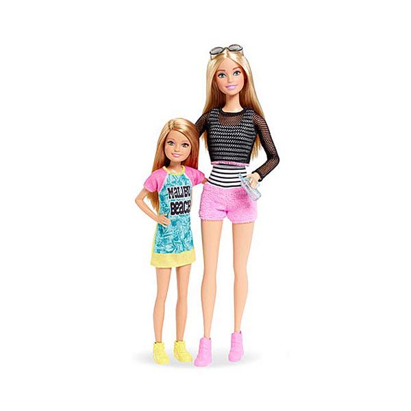 Barbie et sa soeur Stacie Mattel   King Jouet, poupées mannequin ... bc73fda15a77