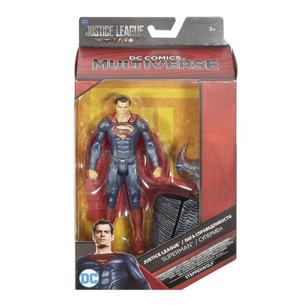 Justice League-Figurine Multiverse Superman 15 cm