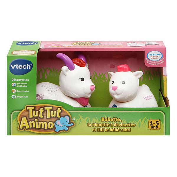 Tut Tut Animo-Duo bébé avec maman chèvre