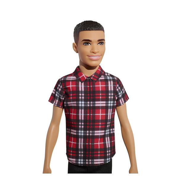 Ken Fashionistas n°9 chemise à carreaux