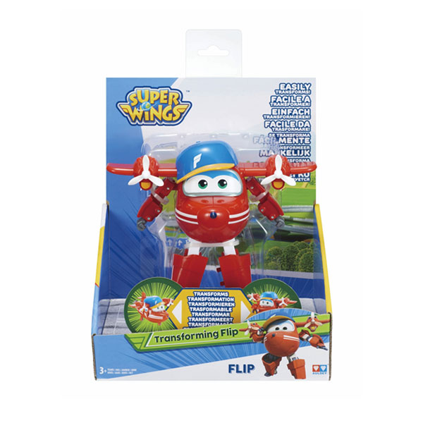 Super Wings-Figurine transformable Flip