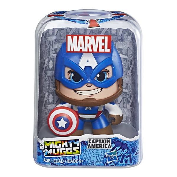 Mighty Muggs - Captain America MARVEL