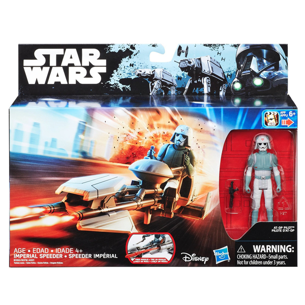 Star Wars-Véhicule Imperial Speeder