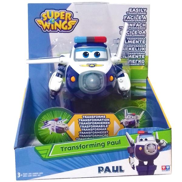 Super Wings-Figurine transformable Paul