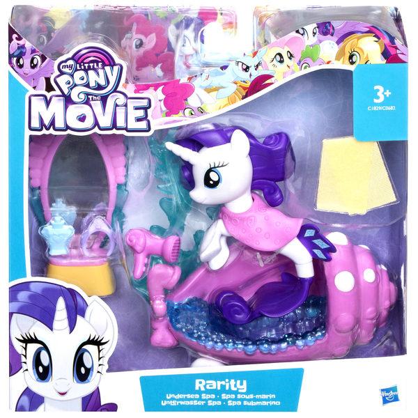 My Little Pony-Aqua-scène sirène Rarity
