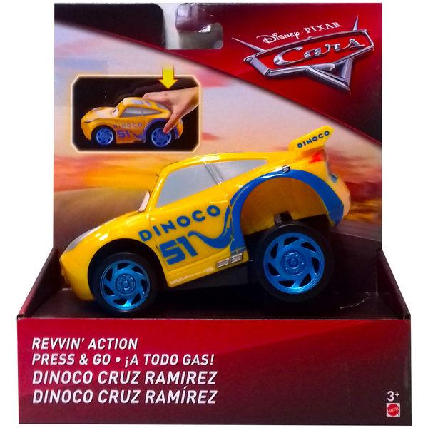 Voiture Rev'N'Racer Cars 3 Dinoco Cruz Ramirez