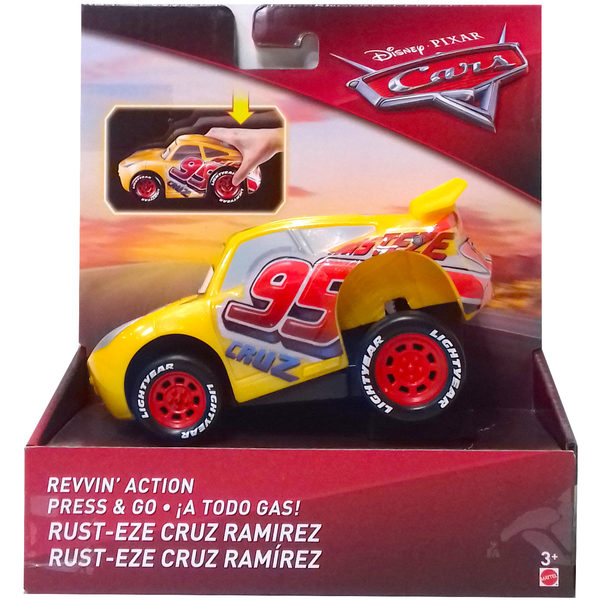 Voiture Rev'N'Racer Cars 3 Eze Cruz Ramirez