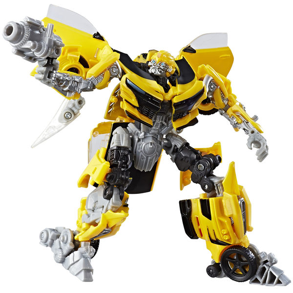 transformers 5 figurine generation deluxe bumblebee hasbro king jouet figurines hasbro jeux. Black Bedroom Furniture Sets. Home Design Ideas