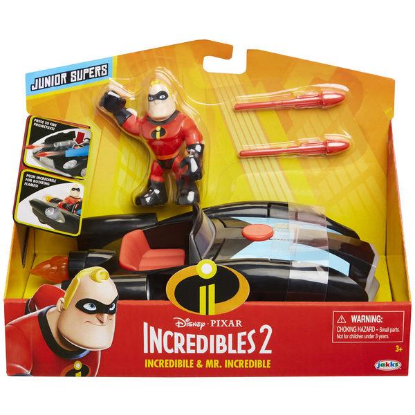 Indestructibles 2-Véhicule et figurine Mr Indestructible