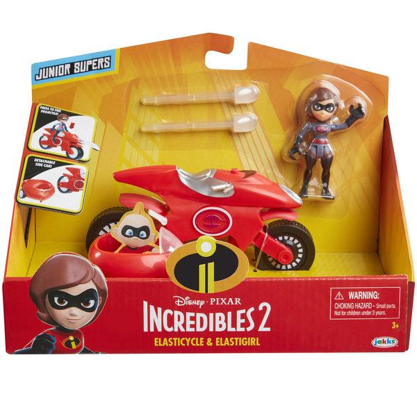 Indestructibles 2-Véhicule et figurine Elastigirl