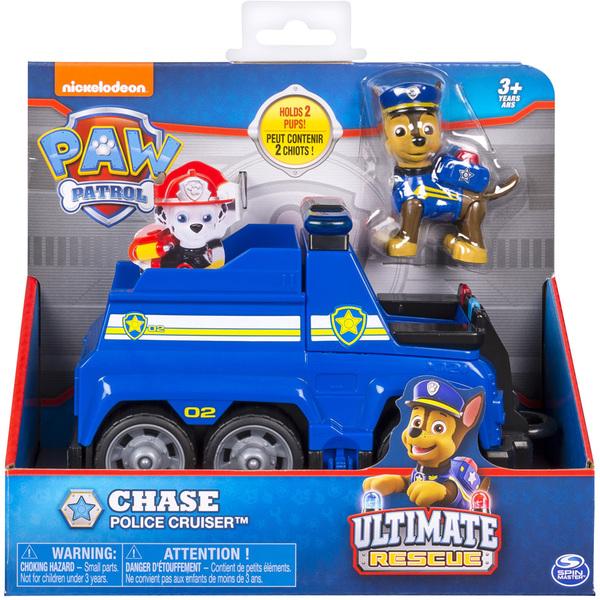 Pat Patrouille-Véhicule et figurine Chase Ultimate Rescue. Pat. Pat d9f0e87aa8a7