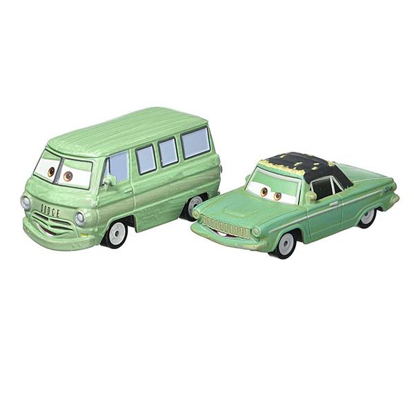 Cars Pack 2 Vehicules Dusty Rust-Eze et Rusty Rust-Eze