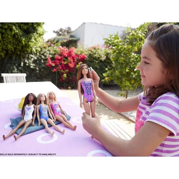 Barbie Plage Maillot violet
