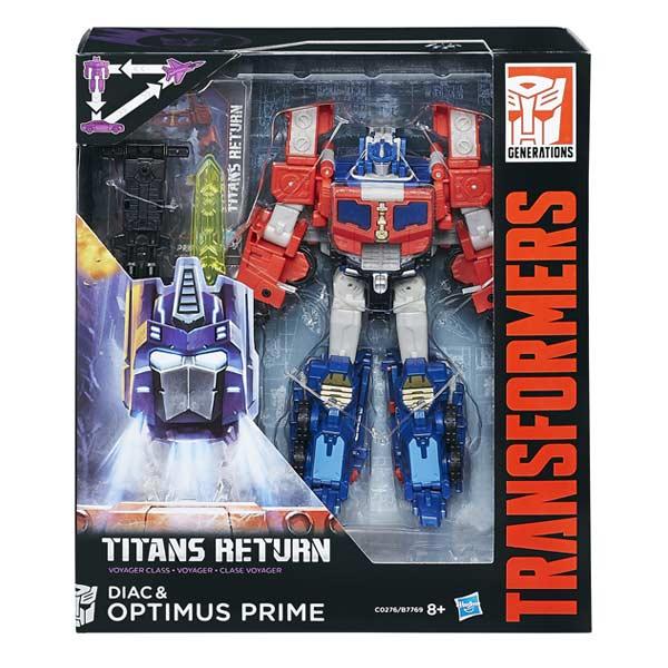 Transformers DIAC & OPTIMUS PRIME