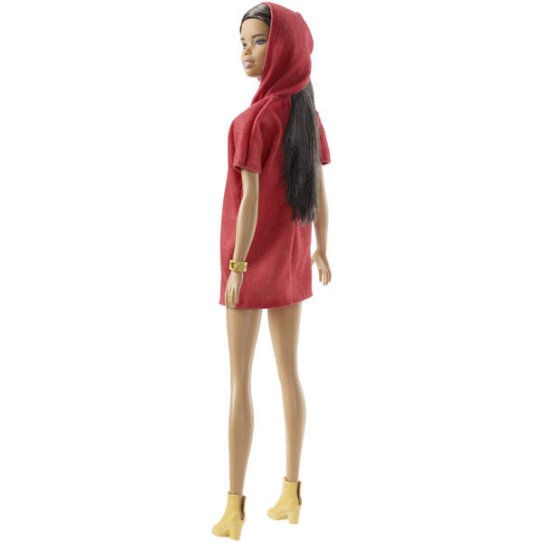 Barbie Fashionistas n°89 robe rouge à capuche