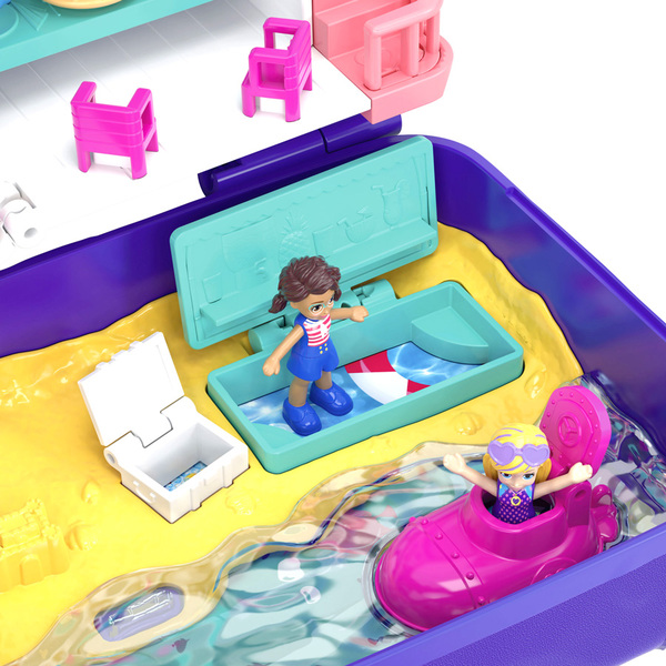 Polly Pocket-Coffret surprises plage