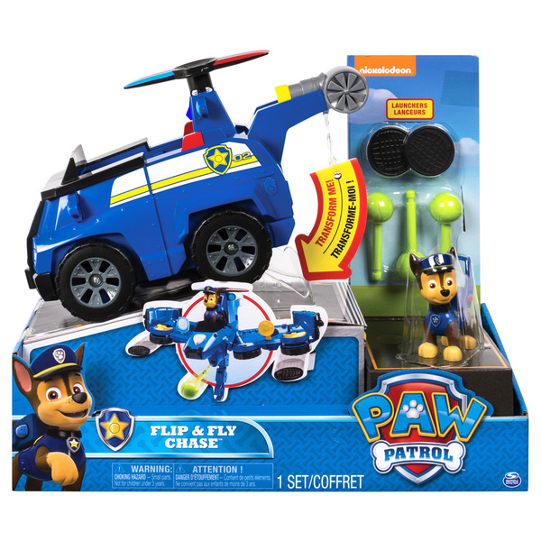 Pat Patrouille-Véhicule transformable Chase Spin Master   King Jouet ... cea0828014a8
