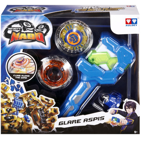 Infinity Nado-Toupie athletic séries Glare Aspis
