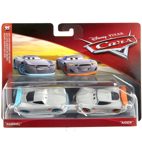 Cars-Pack de 2 véhicules Gabriel et Aiden