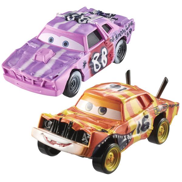 Cars-Pack de 2 véhicules Tailgate et Pushover
