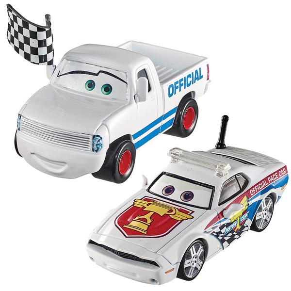 Cars-Pack de 2 véhicules Kris Revstopski et Pat Traxson