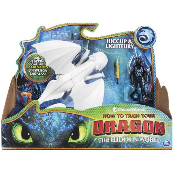 dragon 3 figurine fury eclair