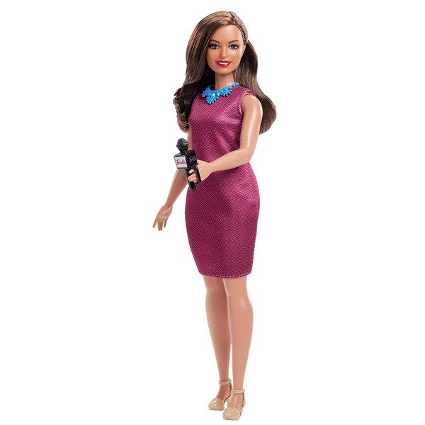 Barbie-Poupée Célébration 60 ans journaliste