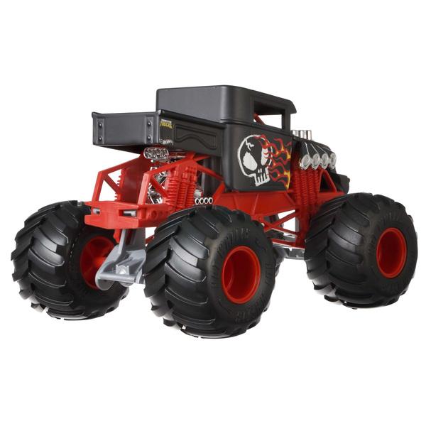 Hot Wheels-Monster Trucks Bone Shaker rouge 1/24 ème