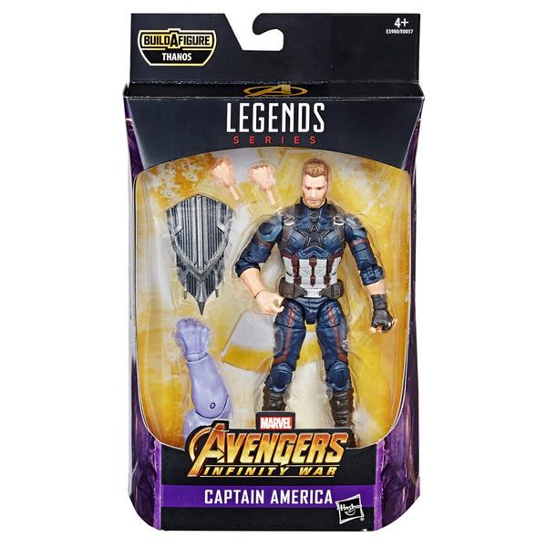 Figurine Captain America 15 cm Legends Series Marvel