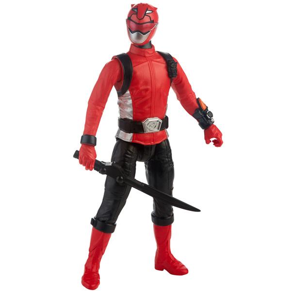 Power Rangers Beast Morphers-Figurine rouge 30 cm