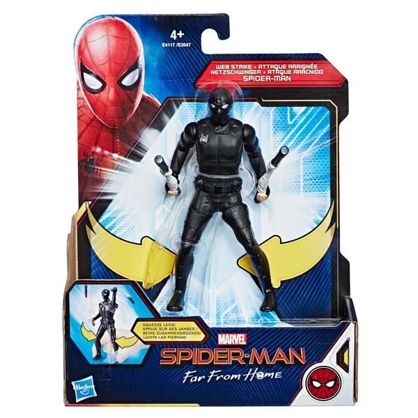 Spiderman Far From Home-Figurine attaque araignée