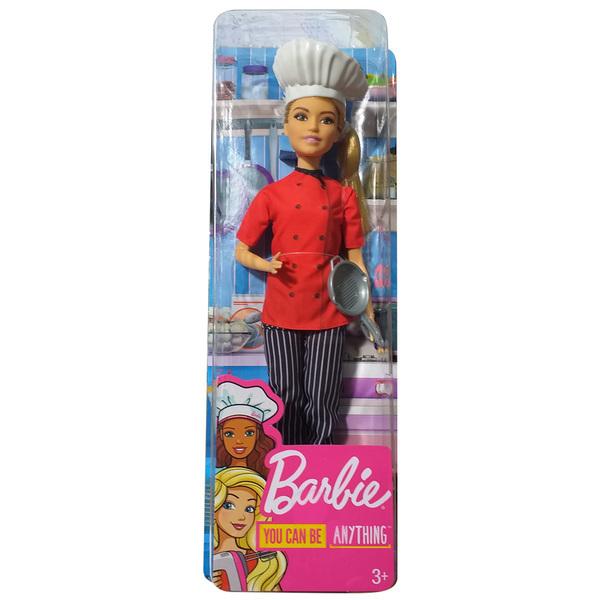 Barbie-Poupée métiers de rêve chef cuisinier