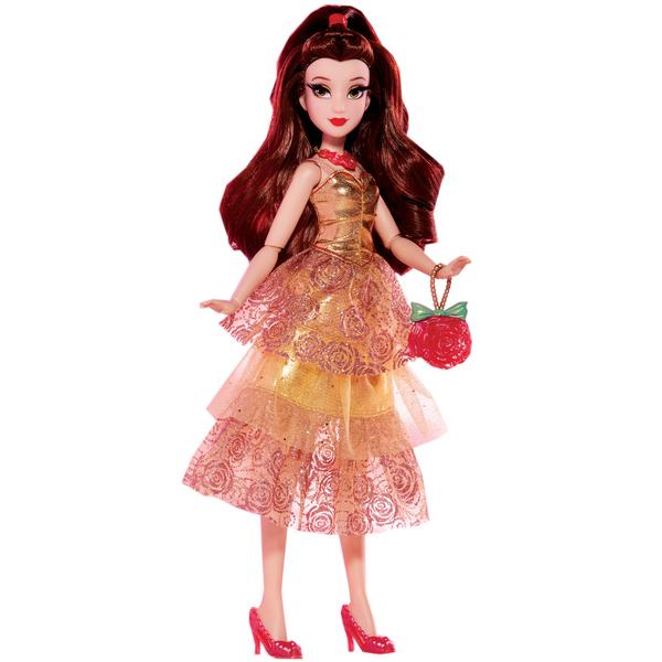 Poupée Style Series - Belle en robe de soirée - Disney Princesses