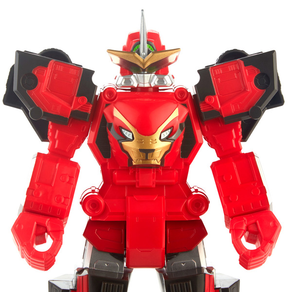 Power Rangers Beast Morphers - Figurine Megazord Rouge 30 cm