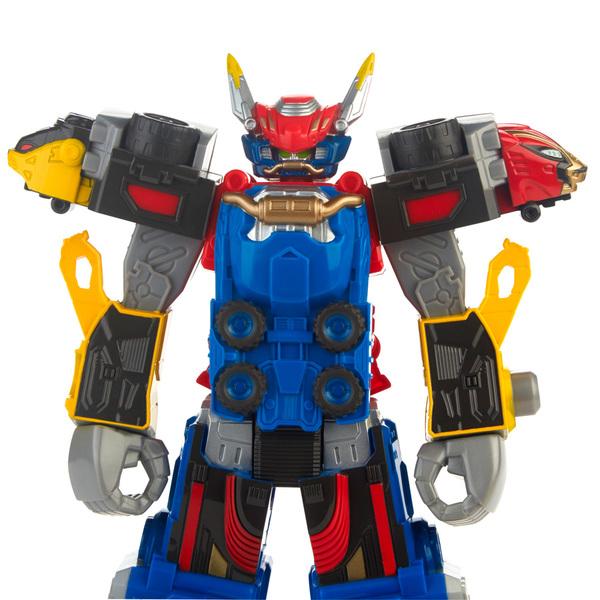 Power Rangers Beast Morphers - Figurine Megazord bleue 30 cm
