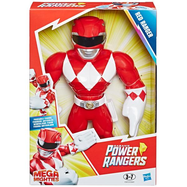 Figurine Mega Mighties Force rouge 25 cm - Power Rangers