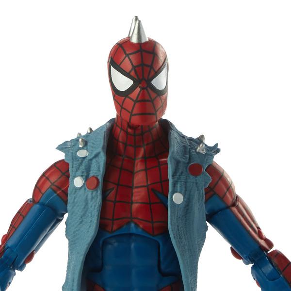 Spiderman - Figurine Spider-punk 15 cm Legends Series Build a figure
